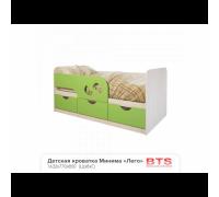 Кровать детская Минима Лего 1.6м